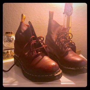 Cherry Red Doc Marten Boots